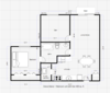 GM 1 BEDROOM WITH DEN FLOOR PLAN
