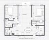 GM 2 BEDROOM FLOOR PLAN